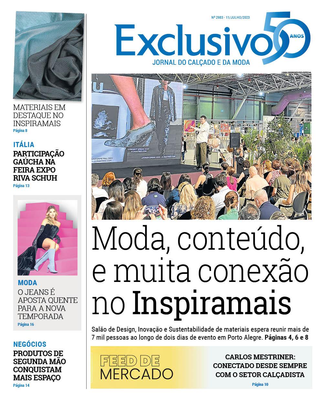 capa do jornal exclusivo
